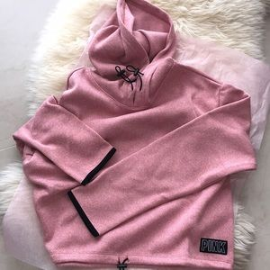 VS PINK sweater knit hoodie